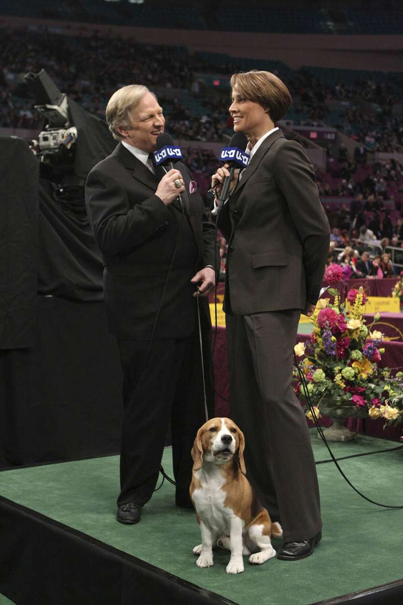 Uno Dog guest in 2009 Westminster telecast
