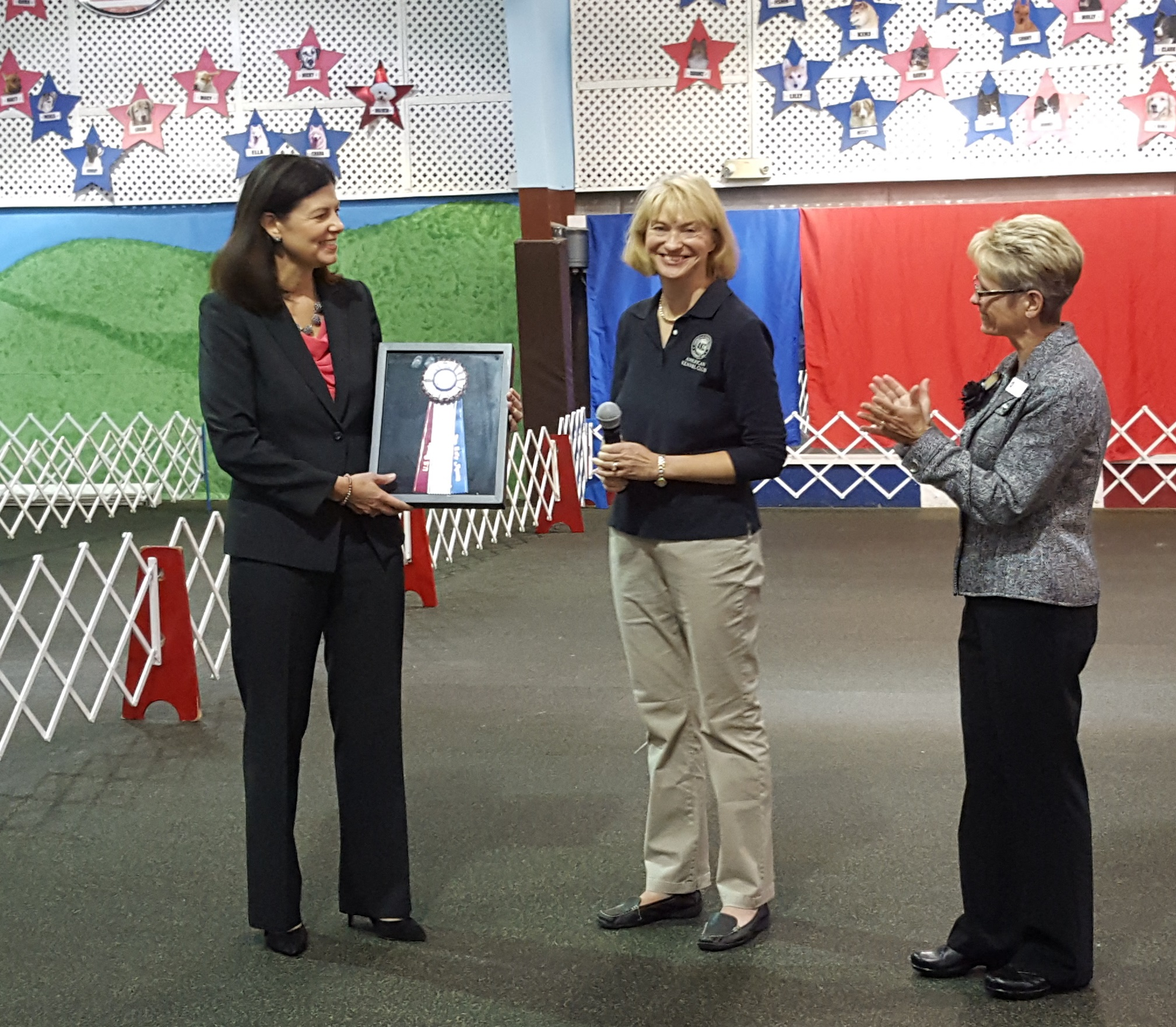 AKC Honors US Senator Kelly Ayotte for Protecting Domestic Violence Victims and Pets