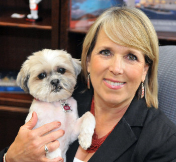Latest In Session: Congresswoman Lujan Grisham's Happy Reunion with her Shih Tzu, Kiwi