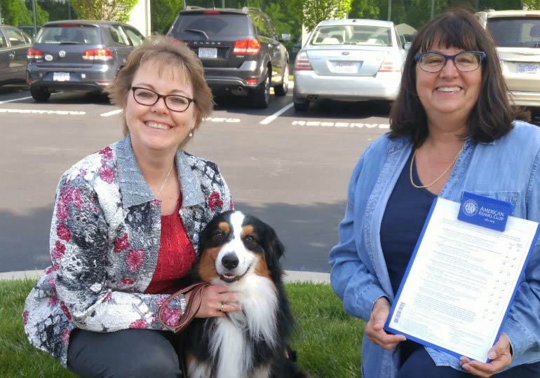 AKC North Carolina Office Holds Canine Good Citizen Tests