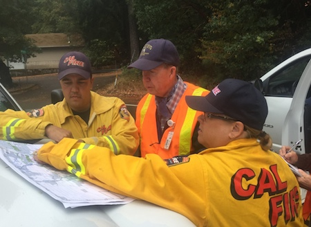 relief efforts cal fire