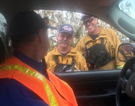 relief efforts firemen
