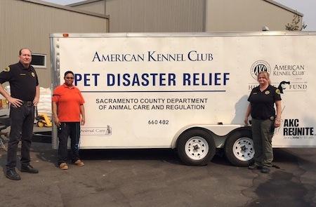 relief efforts trailer