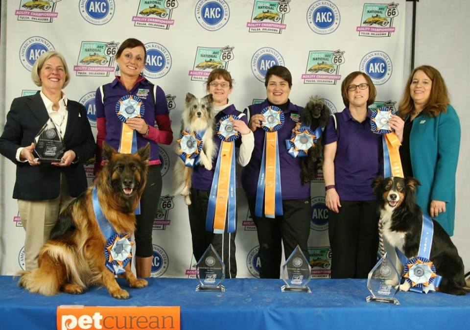 2016 AKC Preferred National Agility Champions