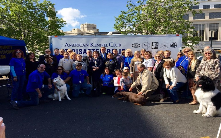 AKC Pet Disaster Relief Rolls Out Mobile Help for Bergen County Pets