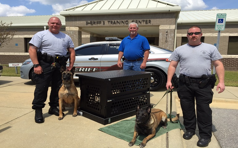 Cape Fear Dog Training Club Supports Its Local Law Enforcements K-9s