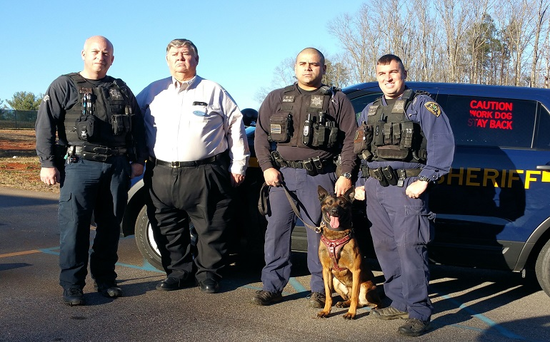 Greenville Kennel Club Makes Police K-9 Donations