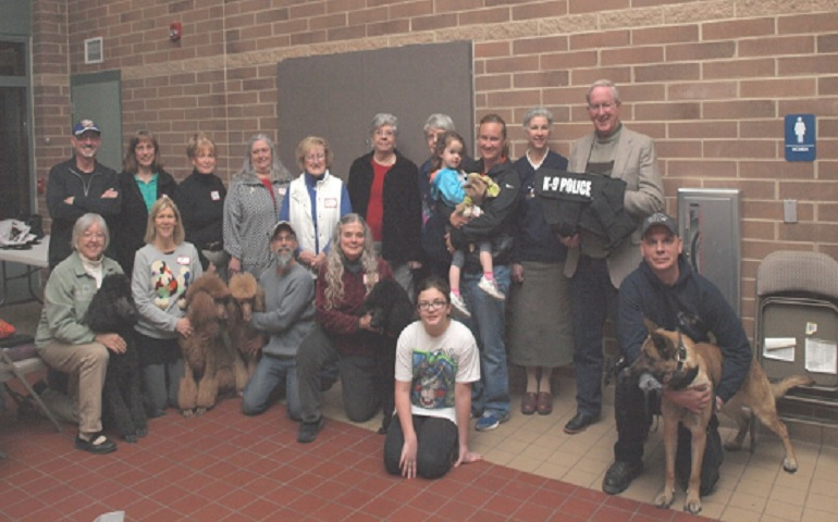 Greater Cincinnati Poodle Club Supports Local K-9