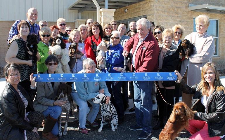 San Antonio Kennel Club ribbon cutting