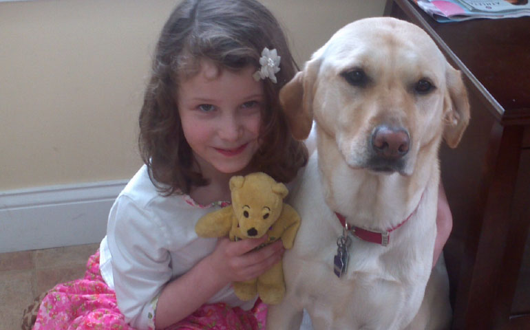 Parents of Sandy Hook Victim Start Therapy Dog Program in Their Daughter's Memory