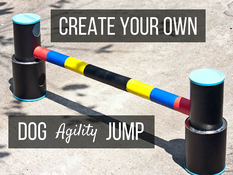 diy create an up cycled dog agility jump american kennel club. Black Bedroom Furniture Sets. Home Design Ideas
