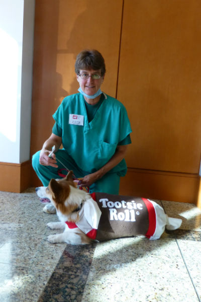 tootsie roll and surgeon