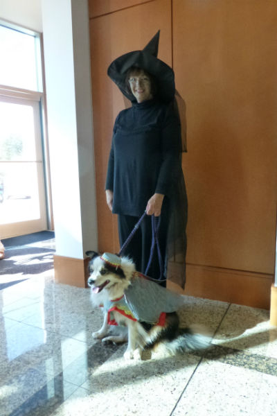 flying monkey and wicked witch