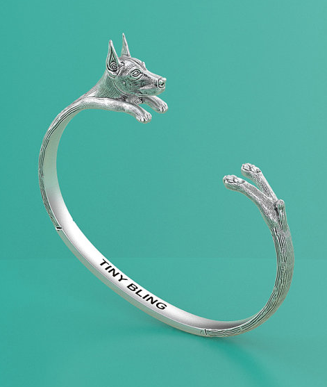 Doberman bracelet