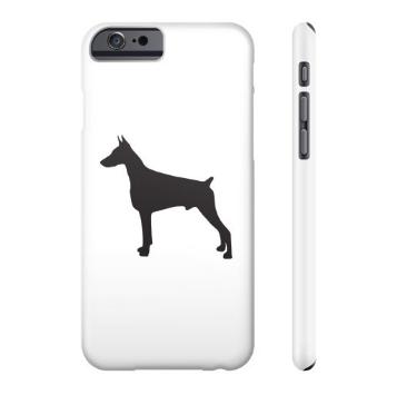 Doberman phone case