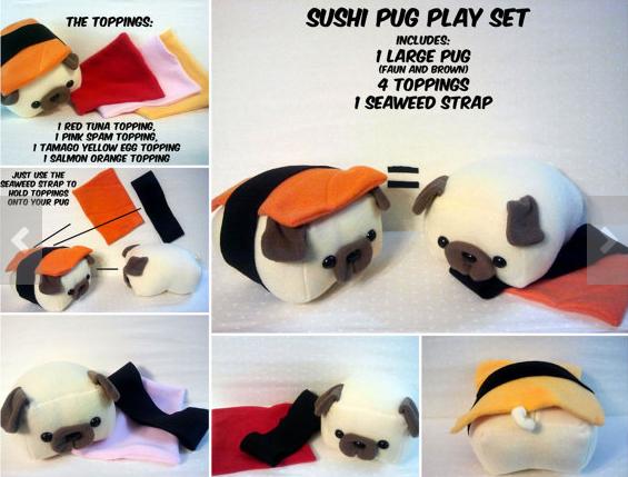 sushi pug playlet