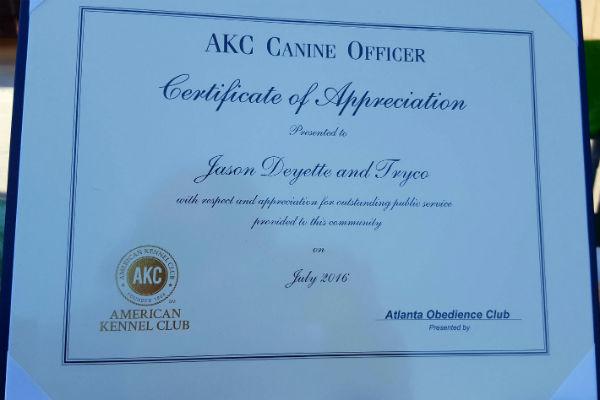 tryko award