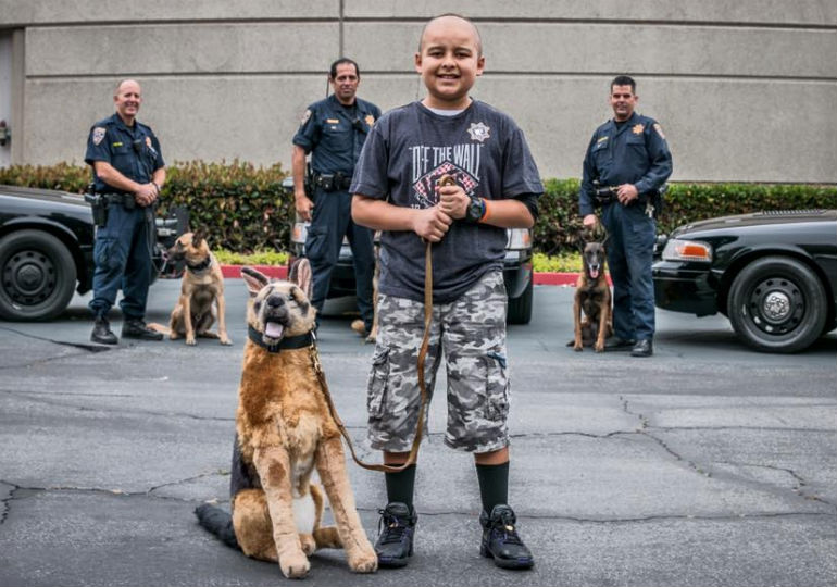 13-Year-Old Fighting Leukemia Named Honorary K-9 Officer
