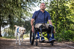 Service Dogs for Heroes — a Veteran Benefits from Life with a Service Dog
