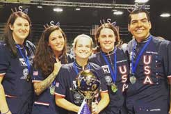 U.S.A. Team Wins World Grooming Competition