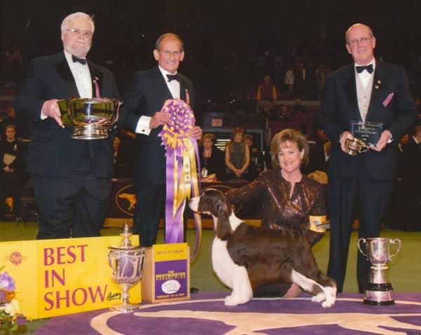 2007 winner Ch. Felicity's Diamond Jim or
