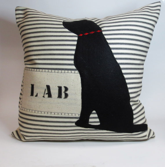 Lab pillow cover