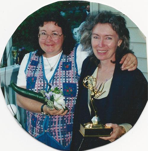 Leandra and Emmy Award