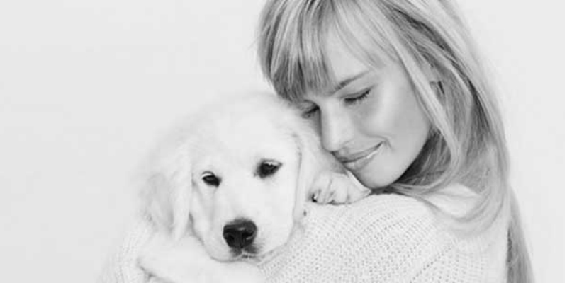 girl with puppy marketplace header image