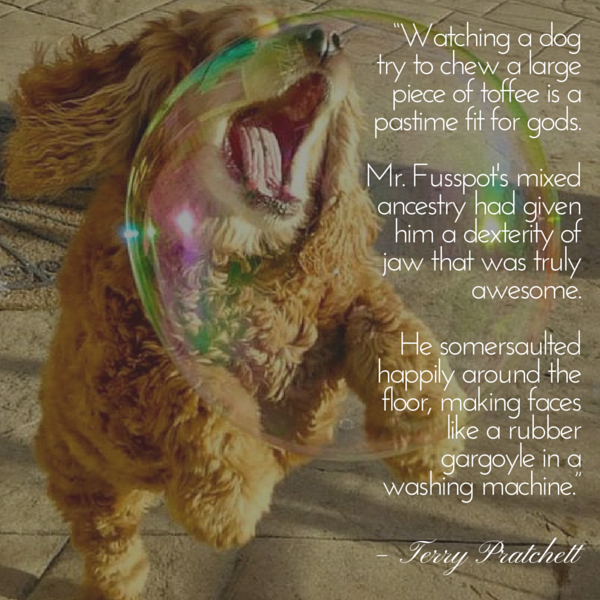 Pratchett dog quote