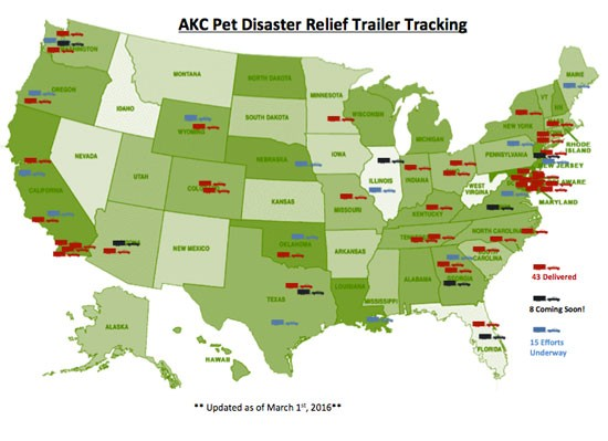 Map of Trailers