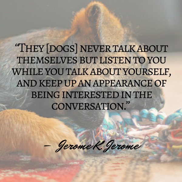 Cita del perro Jerome
