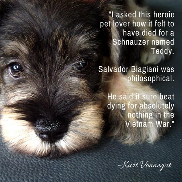 Citas del perro Vonnegut